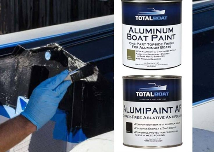 Best aluminum boat paint for protection durability