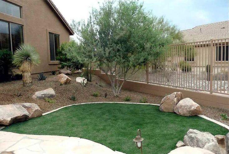 Desert landscaping ideas desert gardens nursery - Landscape designs for small backyards ...
