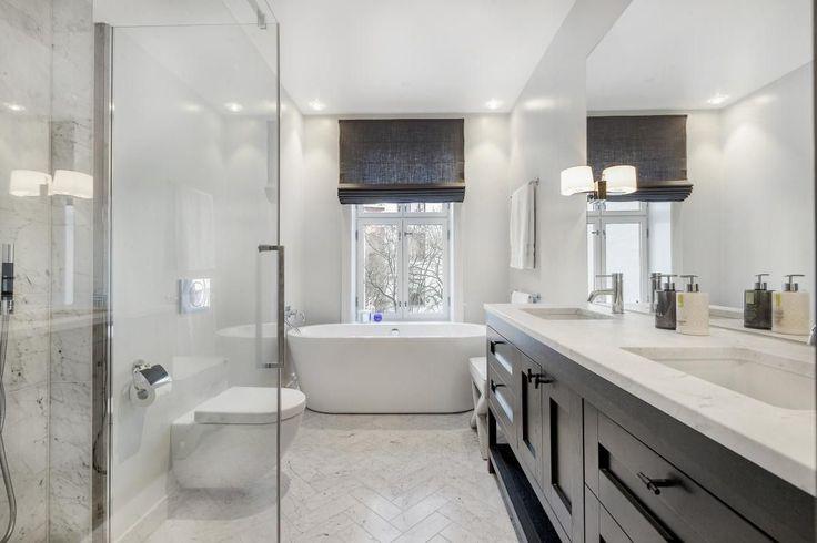 FINN – Frogner - Leilighet med sjeldent høy standard og klassiske detaljer - 3 soverom med eget bad, separat toalett og vaskerom - Gjennomgående oppusset i 2016 - Mulighet for garasjeleie*