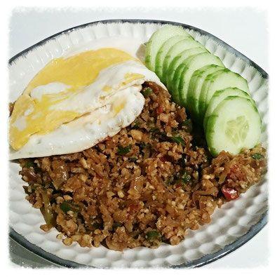 Nasi goreng zonder rijst