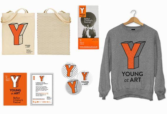 Young at Art - Children's Art Festival - Branding