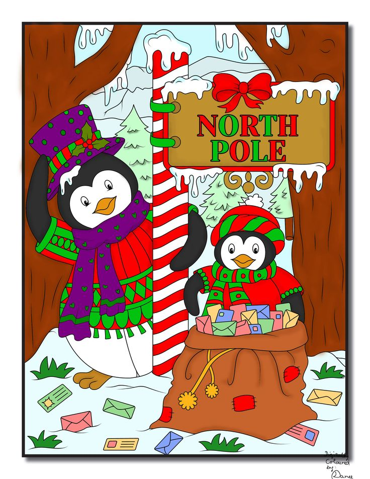 Jade Summer - Christmas Coloring Book Digital Colouring