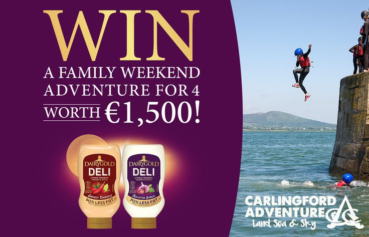 Win a Weekend Adventure for 4 at Carlingford Adventure Park - https://www.competitions.ie/competition/win-weekend-adventure-4-carlingford-adventure-park/