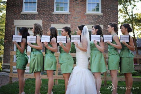 Amerikai stílusú, fényűző esküvő - Gyönyörű koszorúslány és örömanya ruhák » Stílusos esküvők > Menyegzolap.hu
