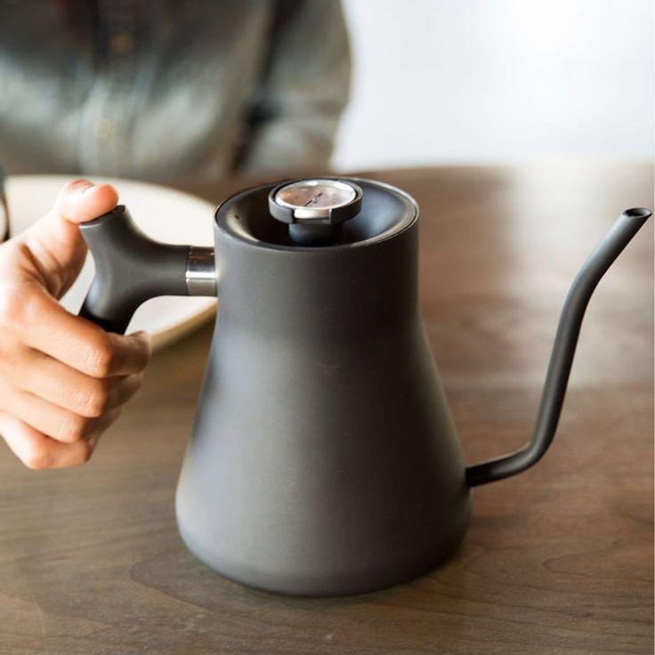 お湯の温度が計れる「ケトル」 適温で淹れれば、コーヒー・お茶が美味しくなる
