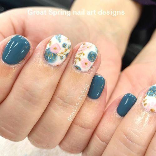 20 Great Spring Nail Designs 2019 #Nailspring