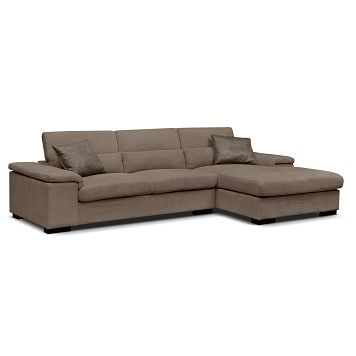 Popular American Signature Furniture Vista Upholstery Pc Sectional