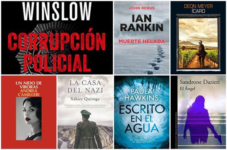 7 novedades de novela negra para esperar al verano - https://www.actualidadliteratura.com/7-novedades-novela-negra-verano/