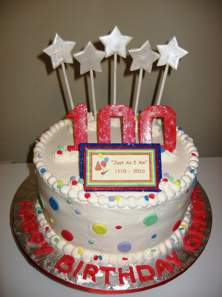 22 best images about milestone birthday cakes on pinterest for 100th birthday decoration ideas