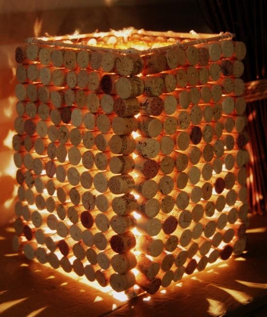 corks and lights