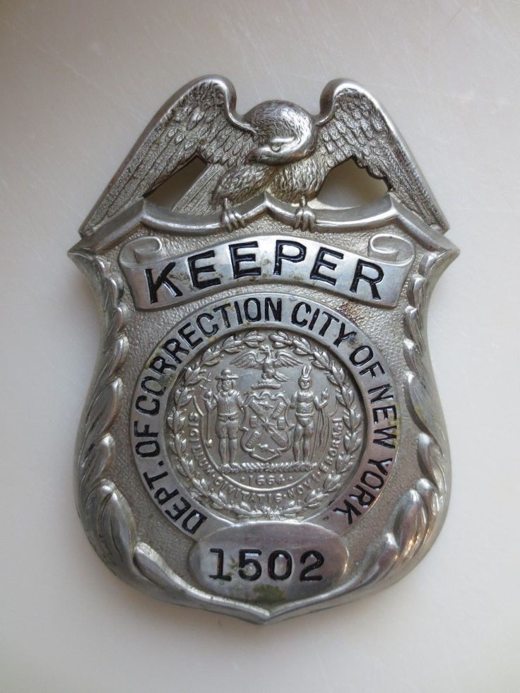 Keeper, Department of Correction, City of New York