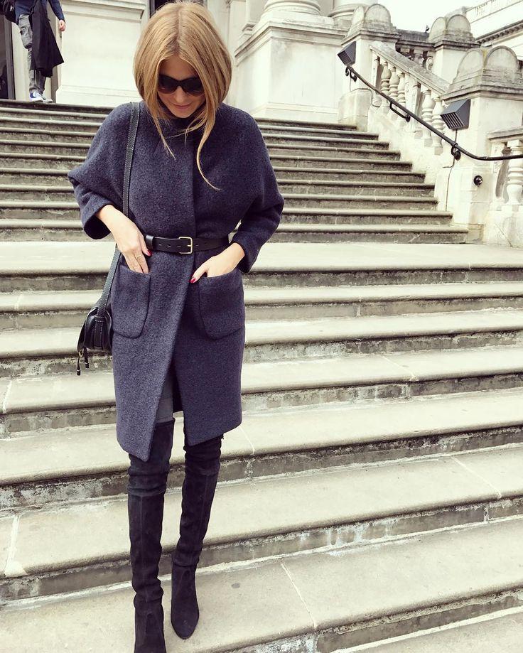 Millie Mackintosh in a ba&sh coat | DRESSR