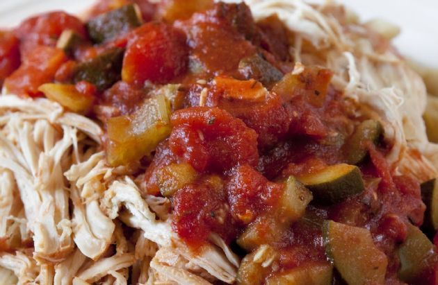In the morning, throw all the ingredients for this simple recipe in the slow cooker. A hearty and healthy dinner will be waiting for you when you get home!