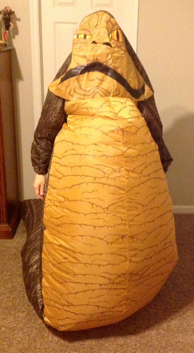 Jabba the hutt halloween costume baby Jabba The Hutt And Princess Leia Costume