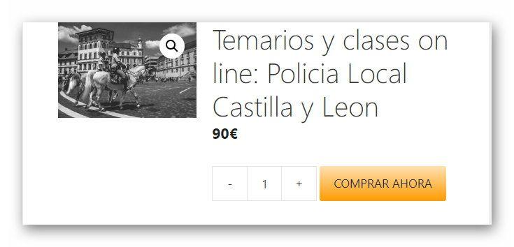 Temarios Y Clases On Line Castilla Y Leon Policía Local Policía Política Social