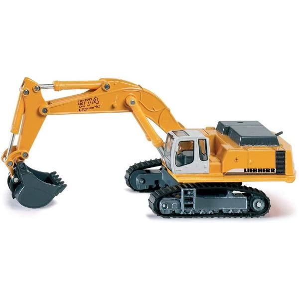 Jual beli Liebherr 974 Hydraulic Excavator Diecast SIKU di Lapak Rijal - rijal6683. Menjual Diecast - The Siku Liebherr 974 Hydraulic Excavator is a must have die-cast piece that every construction vehicle and Liebherr enthusiast must have in their collection.  With a movable excavator arm, you'll love to pose this vehicle in your construction site play area. Features a traditional construction yellow paint job.  SIKU toy models are accurately detailed, robust, and provide a multiplicity ...