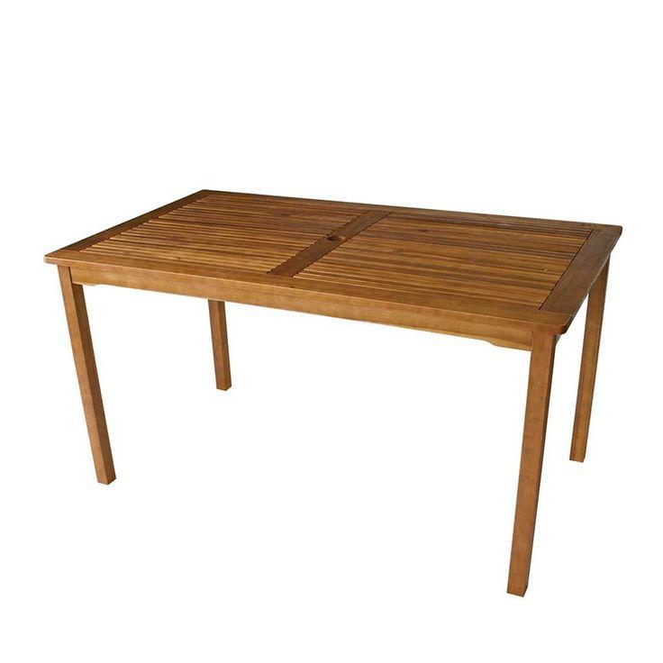 Cool Garten Esstisch aus Akazie Massivholz cm holztisch gartentisch massivholztisch k chentisch esszimmertisch