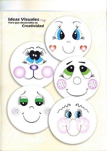 Modelos De Desenhos De Olhos E Bocas Para Pintar Em Bonecas Ajilbab