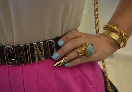 anel de unhas anelar