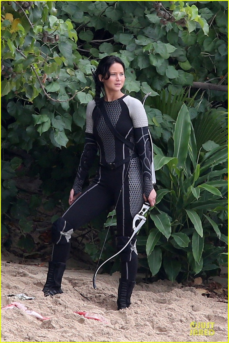 What pictures represent katniss everdeen yahoo answers - The Hunger Games Catching Fire New Set Photos