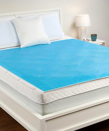 Delightful Bubble Gel Cooling Mattress Pad U0026 Protector #zulilyfinds Amazing Pictures