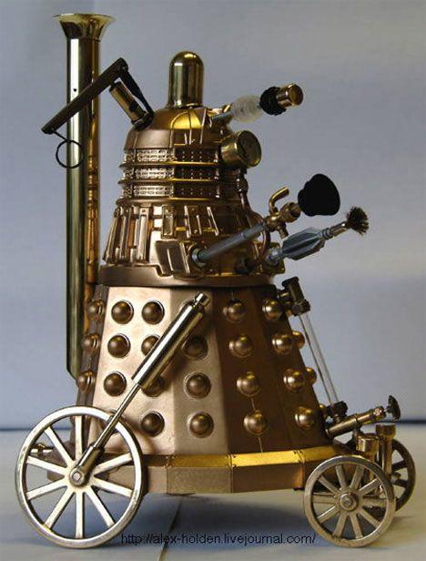Steampunk Dalek :)Geek, Nerd, Robots, Steampunk Stuff, Doctors Who, Steam Punk, Steampunkdalek, Steampunk Dalek, Alex O'Loughlin