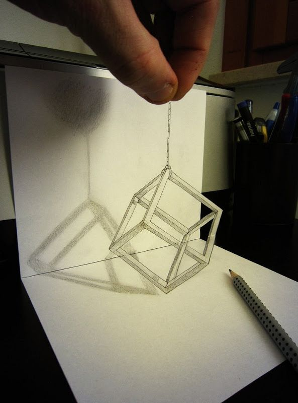 31 best Anamorficos images on Pinterest  Drawings Optical