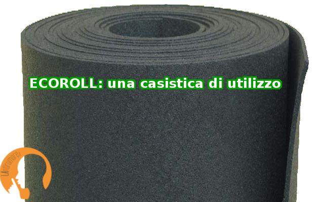 Solaio+ Alleggerito degli impianti+ Ecoroll (anticalpestio in granuli di gomma) spessore 6 mm+ Massetto 4 cm +  pavimento flottuante in legno Guarda il prodotto: http://www.lantirumore.it/catalogo-pr…/anticalpestio/ecoroll