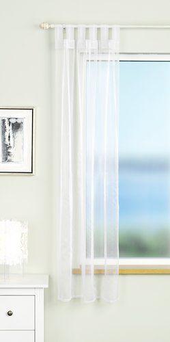Függöny ALAJAURE 1x110x175 fehér
