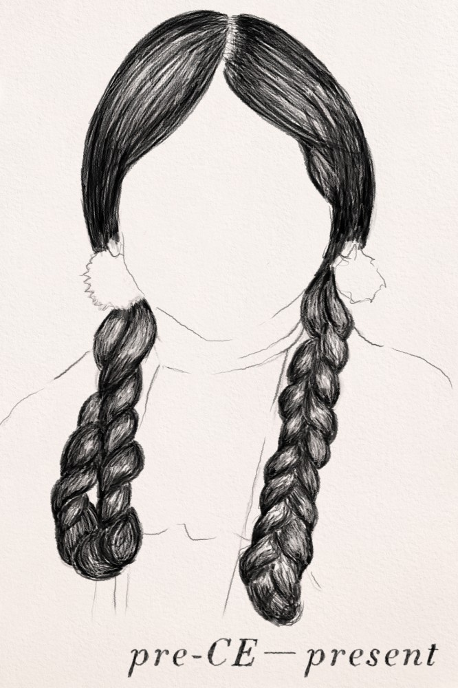 The History of Hair - Braiding Hair  native american braid  pre-ce  to present