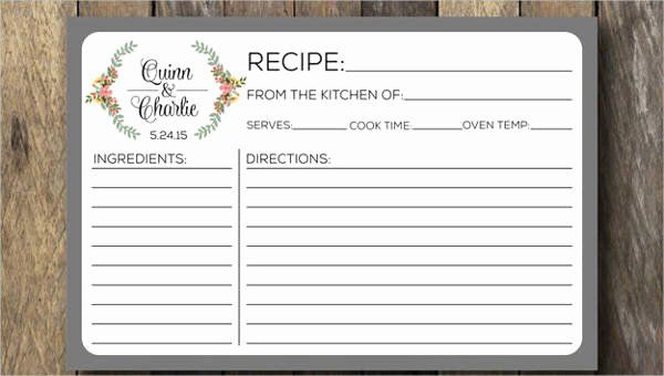 Editable Recipe Card Template Beautiful Recipe Card Template 10 Free Pdf Download Recipe Cards Template Recipe Template For Word Card Template