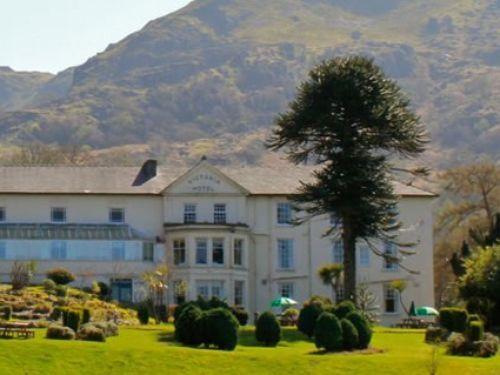 The Royal Victoria Hotel, Gwynedd, Wales.