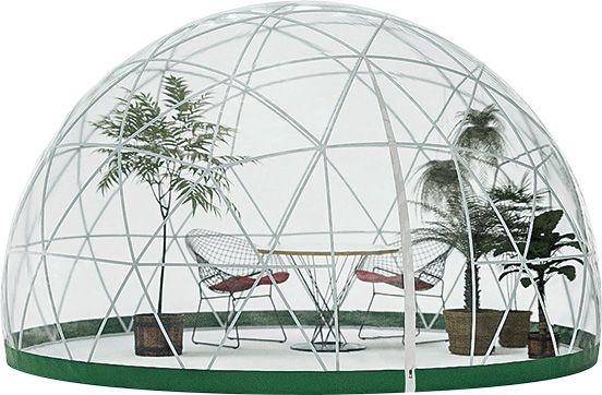 組み立て式のドーム型テント? 《ガーデンネスト》です。   casabrutus.com