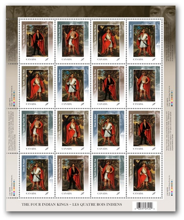 2010 stamp, Four Indian Kings
