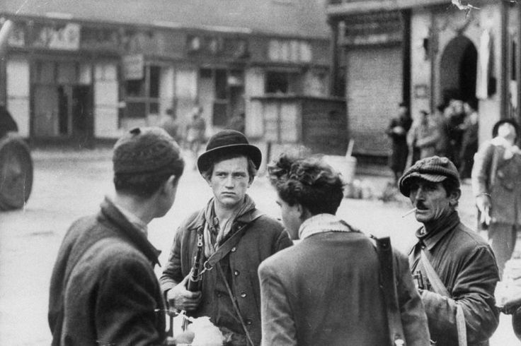 Not published in LIFE. Hungarian rebel fighters, Budapest, 1956.  9 of 29