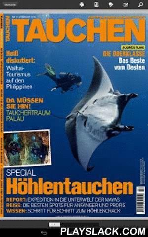 TAUCHEN - Epaper  Android App - playslack.com , TAUCHEN, aus dem JAHR TOP SPECIAL VERLAG, ist die älteste Tauchzeitschrift Deutschlands und zählt seit 35 Jahren zu den größten Tauchsport-Magazinen weltweit. Für alle Taucher, die sich in ihrer Freizeit mit der Unterwasserwelt beschäftigen, ist TAUCHEN Pflichtlektüre - bei Urlaubstauchern und Tauchlehrern gleichermaßen - Schwerpunkte der Berichterstattung liegen in den Bereichen Tauchausrüstung und Tauchurlaub. Wir führen unsere Leser zu den…
