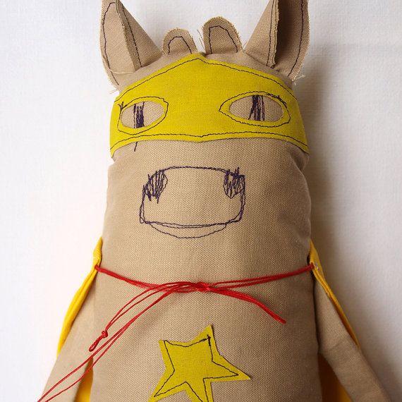 Cow softie cow fabric doll cow soft toy cow by AbracadabraAndStuff