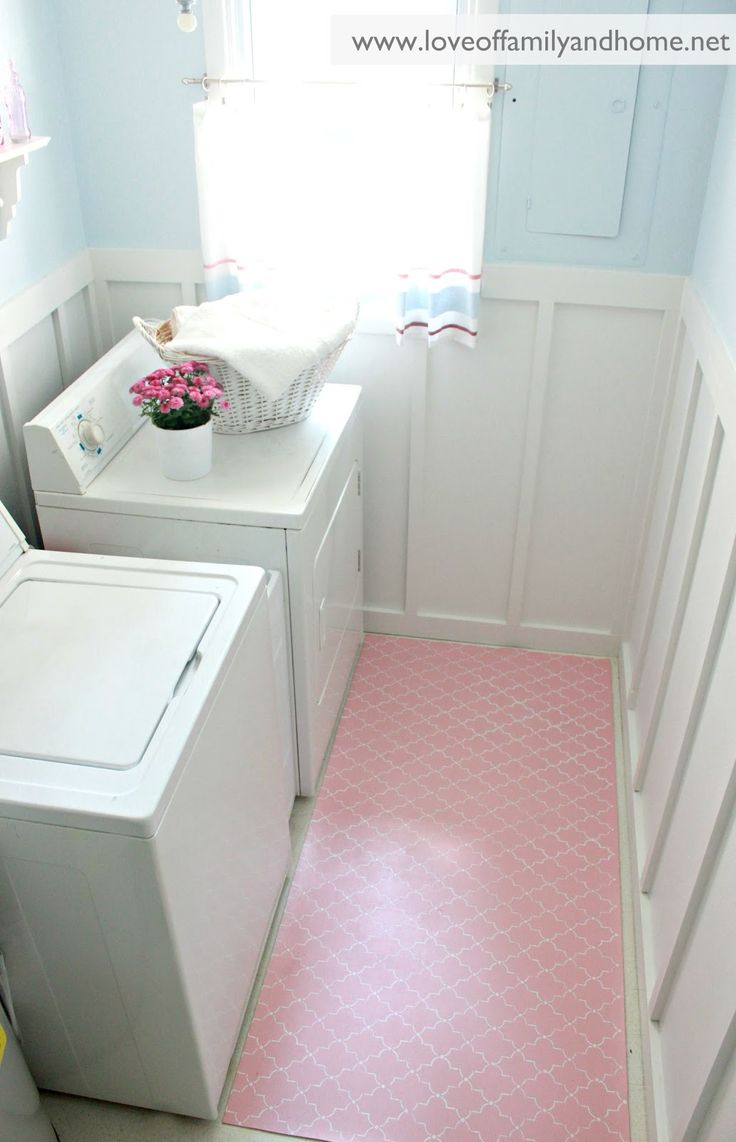laundry room pink - Google Search