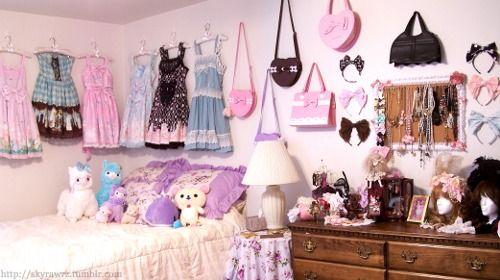 Sweet Lolita Bedroom.