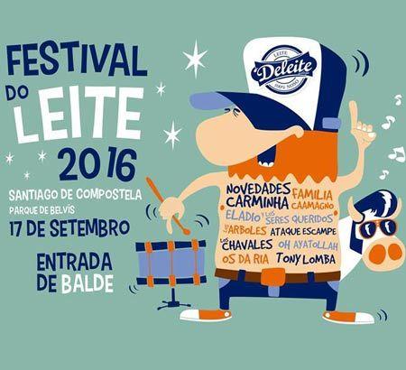 Festival do Leite 2016 en Santiago de Compostela. Ocio en Galicia | Ocio en…