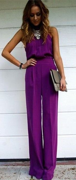 House of Ollichon loves...20 Stylish Wedding Guest Looks. #jumpsuit #relaxed #chilled