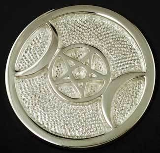 I want this Silver Plated Tri...  Check it out  http://familiar-territory-store.myshopify.com/products/silver-plated-triple-moon-altar-tile?utm_campaign=social_autopilot&utm_source=pin&utm_medium=pin