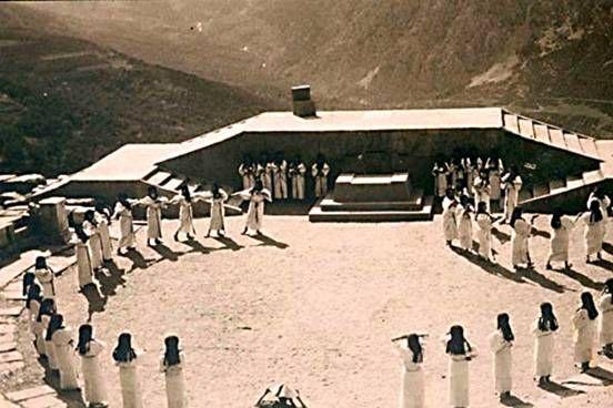 Aufführung  beim Delphi Festival von 1930