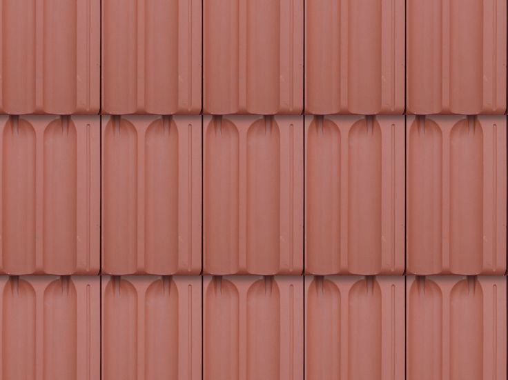 New Seamless Red Roof Tiles