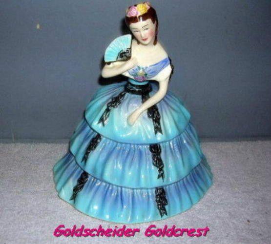1949 Goldscheider Goldcrest Figure, Courtsey