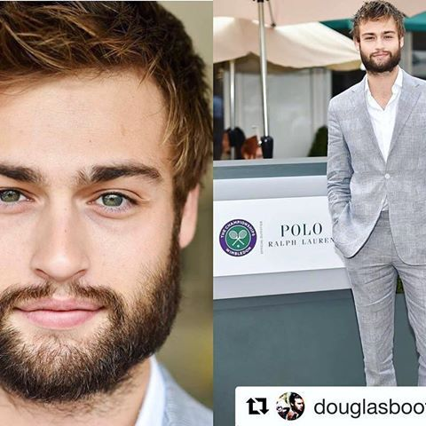 .  No words to describe.. 😍🎾  @douglasbooth attends day eight of the Wimbledon Tennis Championships at Wimbledon on July 04, 2016 in London, England  📷 by Karwai Tang •  #douglasbooth #wimbledon #tennischamp #wimbledontennis #thechampionships #uk #london #actor #model #british #handsome #beautiful  #Repost @douglasboothitalia with @repostapp