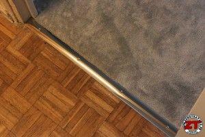 Tuto : Installer une barre de seuil de porte