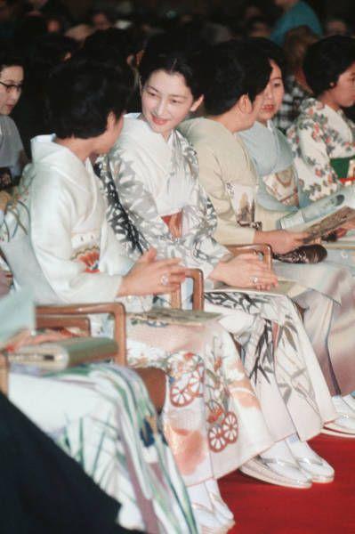 皇太子妃美智子さま(東京)(1970年ごろ撮影) 【時事通信社】
