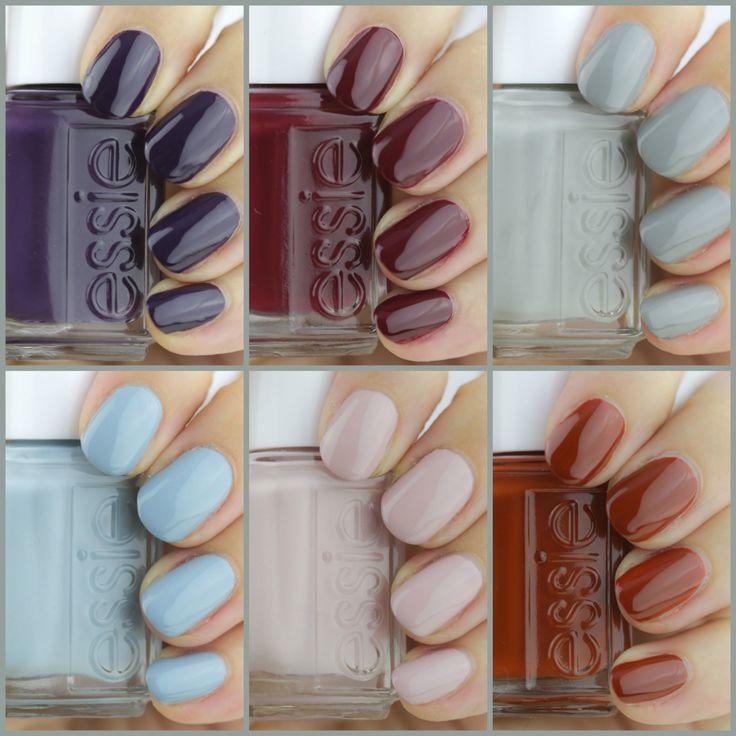 Essie Fall Nail Colors: Essie Fall 2016, Essie Fall 2016 Review, Essie Fall