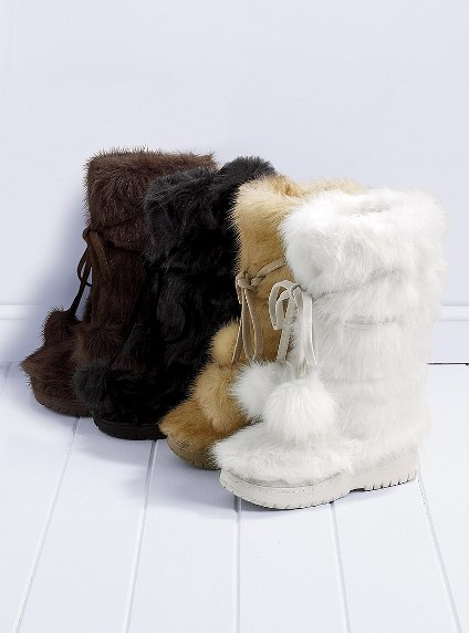 Debating these warm fuzzy boots (in tan)...